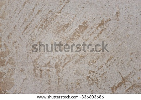 Old gray scratched concrete wall. Texture. Background - stock photo