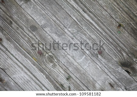 old gray timber fragment - stock photo