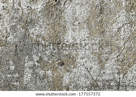Old gray wall texture  - stock photo
