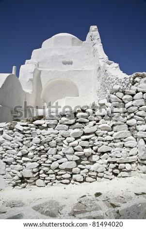 Old Greek Church - stock photo