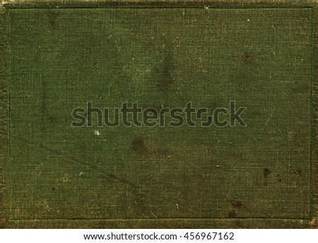 Old Green Dirty Canvas, Texture Background