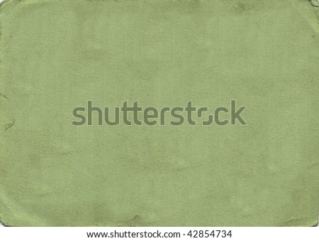 Old green paper - stock photo