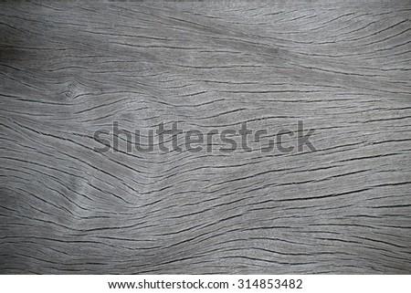 Old grey wood background - stock photo