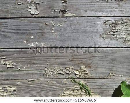 Old grey wooden planks texture background