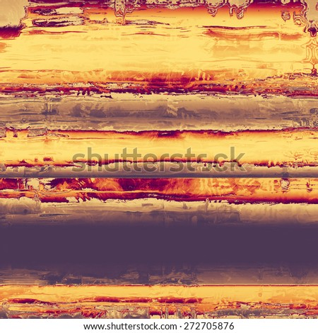 Old grunge antique texture. With different color patterns: yellow (beige); brown; gray; purple (violet)