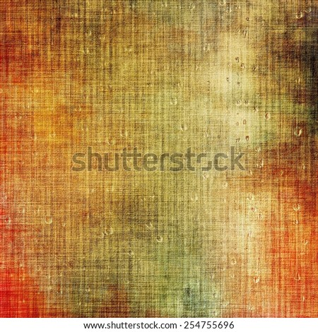 Old, grunge background or ancient texture. With different color patterns: yellow (beige); brown; red (orange); green - stock photo