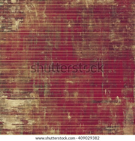 Old, grunge background or damaged texture in retro style. With different color patterns: yellow (beige); brown; gray; purple (violet); pink - stock photo
