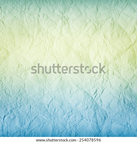 old grunge background - square blank crumpled paper - stock photo