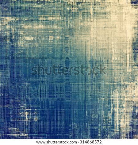 Old, grunge background texture. With different color patterns: yellow (beige); brown; blue; gray - stock photo