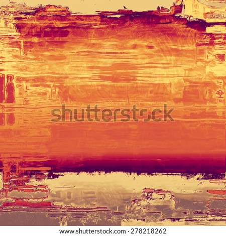Old, grunge background texture. With different color patterns: yellow (beige); brown; purple (violet); red (orange) - stock photo