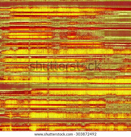 Old grunge background with delicate abstract texture and different color patterns: yellow (beige); red (orange); green yellow (beige); red (orange); green - stock photo