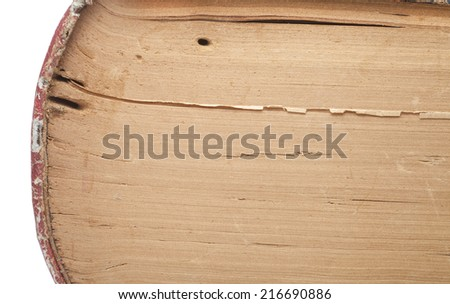 old grunge beside paper book background texture