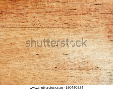 old grunge cutting board, high detailed texture - stock photo