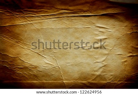 Old grunge paper background - stock photo