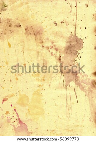 Old grunge paper with blotches
