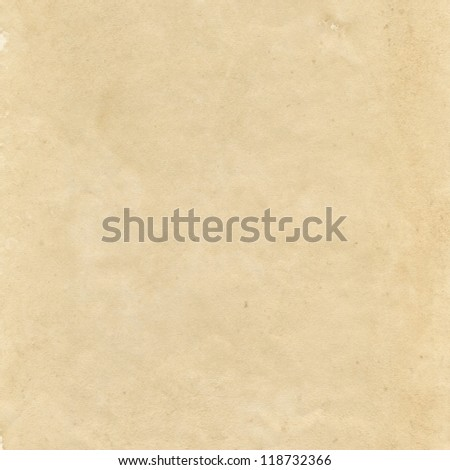 Old grunge sheet of paper texture - stock photo