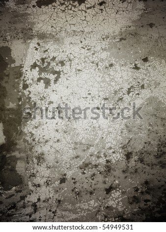 old grunge wall backgound - stock photo