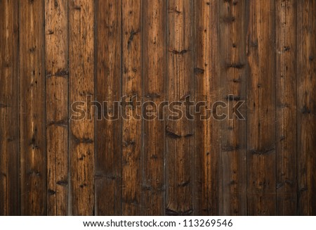 old, grunge wood panels used as background - stock photo