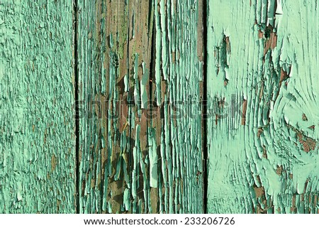 old grunge wooden background - stock photo