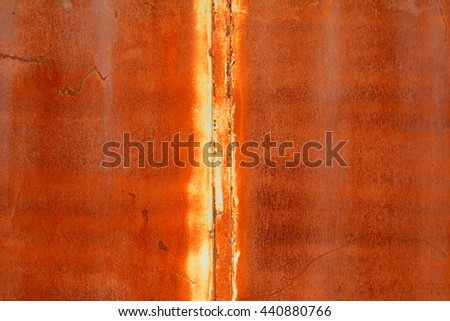 Old Grungy and Dirty Red rusty metal sheet texture background - stock photo