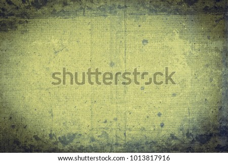 Old grungy empty paper background. Paper texture.