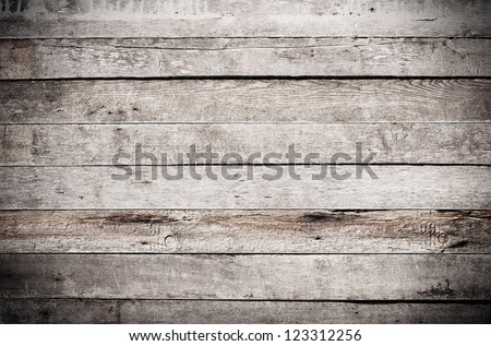 Old grungy wooden planks texture - stock photo
