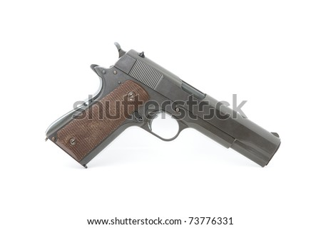 Old gun - stock photo