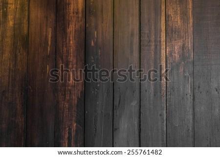Old hardwood texture - stock photo