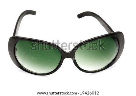 Old hollywood style tinted glasses