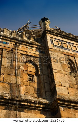 Old house in New Delhi - stock photo