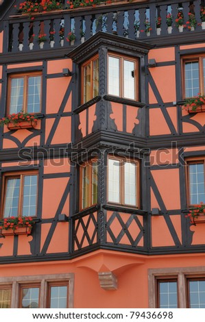 old house in Obernai