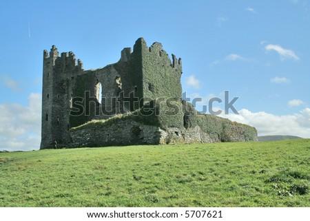 Old irish castle - stock photo