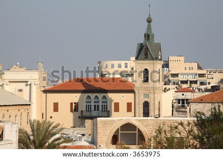 Old Jaffa, Israel - stock photo