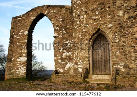 Old John door and arch Bradgate park Leicester & Old Door Wall Covered Wild Flowers Stock Photo 672169978 ... Pezcame.Com