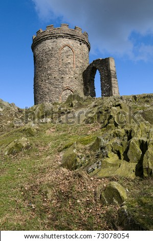 Old John In Bradgate Park Leicestershire.
