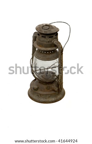 Old Lantern - stock photo