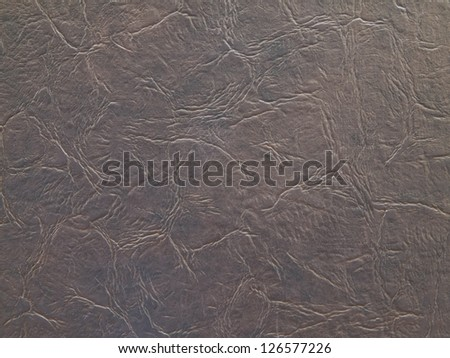 Old leather texture for background - stock photo
