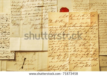 how to write an old fashioned letter