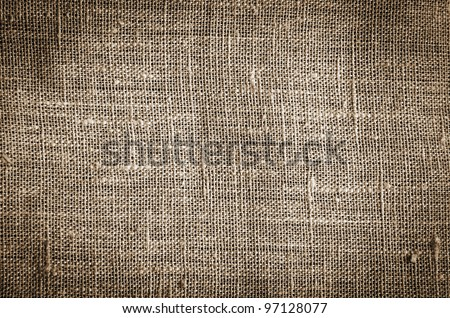 old linen texture - stock photo
