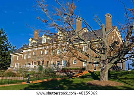 Old Mansion On Hill