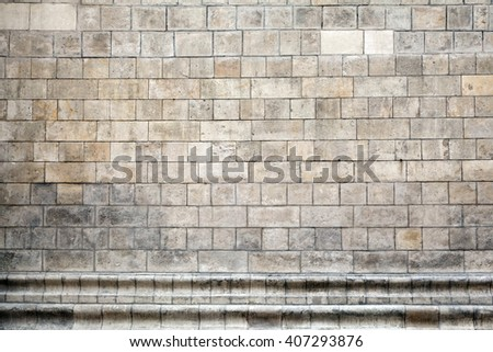 old marble wall, grunge background