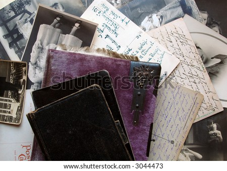 Old memories - stock photo