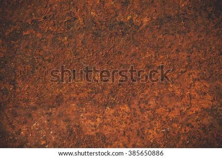 old metal iron rust texture - stock photo