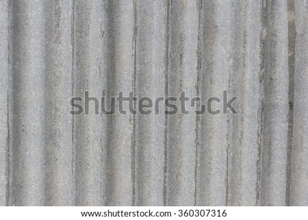 Old metal plate fence background - stock photo