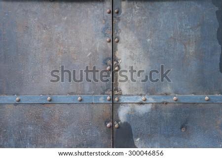 old metal tank - stock photo