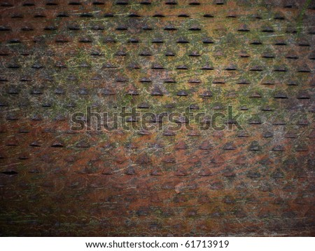 old metal texture - stock photo
