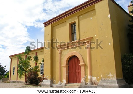 Old Mexican Church - stock photo