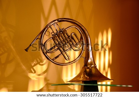 old musical instrument - stock photo