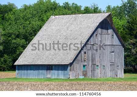 Old Nebraska Barn