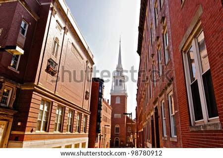 Old North Church - stock photo